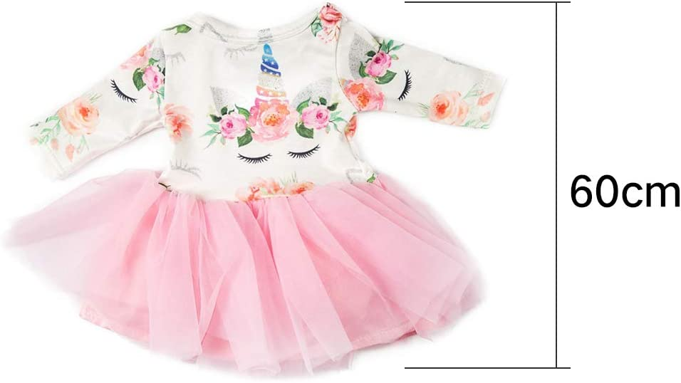 XHXseller 18 inch Doll Clothes Gift Girls Toys Doll Outfits,Clothes Set Dress Outfits Costumes Girl Christmas Birthday Gift