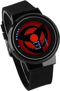Montres Hommes Écran Tactile LED Montre Naruto Anime Entourant Montre Électronique Lumineuse Étanche Cadeau Créatif Person...