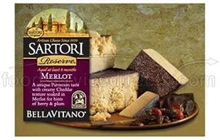 Bellavitano Merlot 1/4 Wheel Cheese, 5 Pound -- 4 per case.