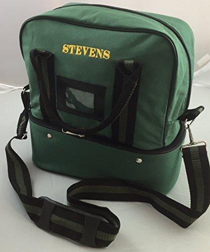 Stevens Tragetasche / Schultertasche für Bowlingkugeln, fasst 2 Kugeln grün grün
