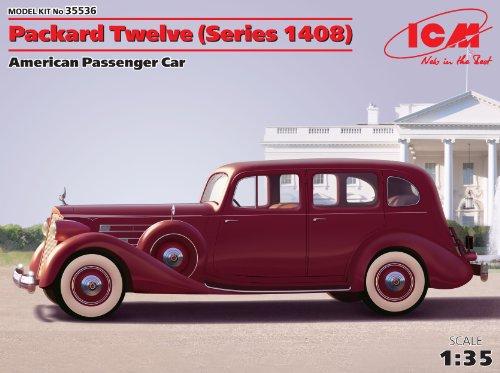 ICM 35536 – 1/35 Packard Twelve Series 1408 plástico