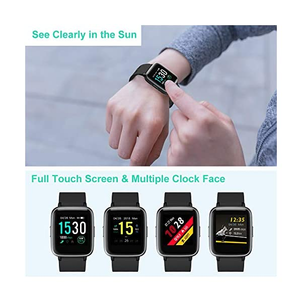 Fashion Shopping Willful Smart Watch for Android Phones Compatible iPhone Samsung IP68 Swimming Waterproof