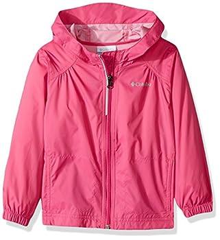 Columbia Little Girl s Switchback Rain Jacket Pink Ice XXS