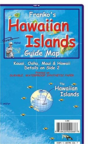 Hawaiian Islands Guide Map and Fishcard: Tauch- und Schnorchel Freizeitkarte: Activity Guides of Favorite Things to See and Do, Waterproof.