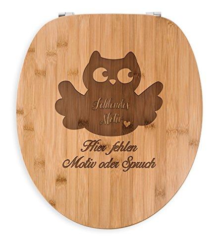 Mr. & Mrs. Panda Badezimmer, Gravur, WC Sitz Herz Deluxe mit Spruch - Farbe Transparent