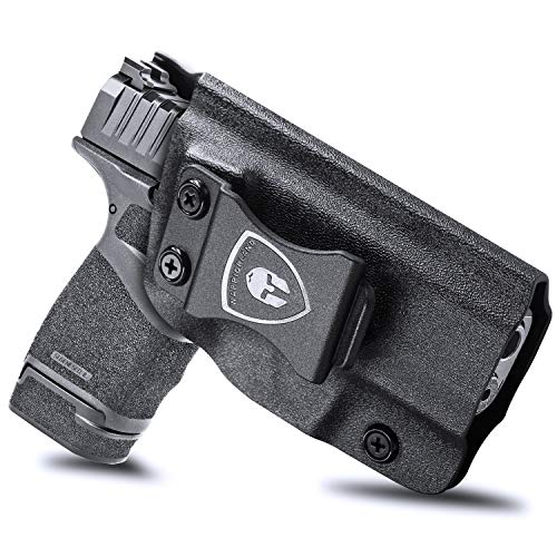 Hellcat Holster, IWB KYDEX Holster Fit: Springfield Armory Hellcat Pistol, Inside Waistband Holster Concealed Carry for Men / Women, Not Fit Any Laser/Light/Red Dot, Adj. Cant & Retention, Right Hand
