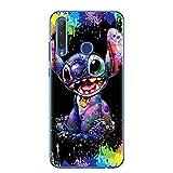 CartoonStich Soft TPU Phone Case for Huawei Honor 9 10 20