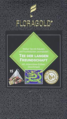 FLORAGOLD Pyramidenbeutel Grüner Tee der langen Freundschaft, 45 g