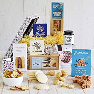Premium British Treats Gift Basket - Gift Card Included - Luxury British Food Basket