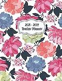Teacher Planner 2021 - 2022: Monthly Agenda Calendar and Weekly 7 Period Lesson Planner for School Teacher July 2021 Through June 2022