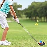 Shhjjyp 10 Piezas De Juguete para Nios Palos De Golf Juego De Juguete De Golf para Exteriores, Preescolar, Ni?Os, Juguetes Educativos