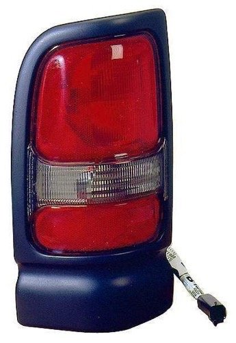 Go-Parts - for 1994 - 2002 Dodge Ram 1500 Rear Tail Light Lamp Assembly / Lens / Cover - Right (Passenger) Side 55055264AC CH2801122 Replacement 1995 1996 1997 1998 1999 2000 2001