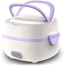 ZOUJUN Portable multifonctionnel Box électrique déjeuner avec des bols en acier inoxydable Mesureur Boîte thermique Déjeun...