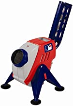 Franklin Sports Kids Pitching Machine - Plastic Baseball Pitching Machine for Kids Batting Practice - MLB Power Pitcher with Adjustable Speeds