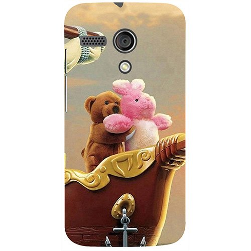 Casotec Funny Titanic Design 3D Printed Hard Back Case Cover for Motorola Moto G 1st Generation
