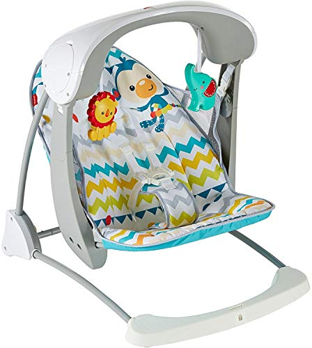 Fisher-Price DPV46 Colourful Carnival Take-Along Swing & Seat