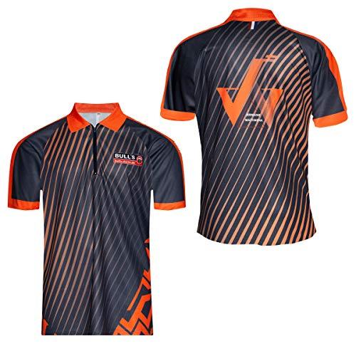 BULL'S J.Wattimena shirt S Dart, oranje, S