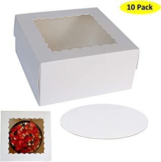 10 inch christmas cake boxes