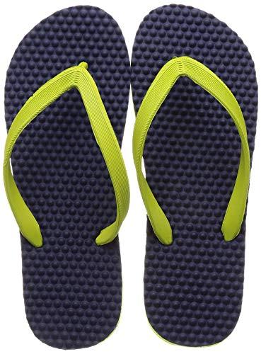 BATA Men MASSAGIO Green Flip-Flops-9 UK (8777416)
