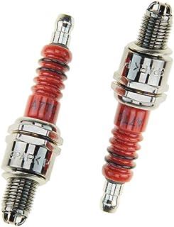 Cuque Spark Plug 4Pcs Motorcycle Metal Spark Plugs Kit for D8TC A7TC A7TC