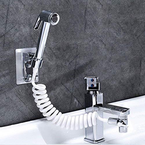 YOUNICER Badezimmer Externe Dusche Waschbecken Waschbecken Wasserhahn Wasserspender Extended Shampoo Artifact Multifunktions-Duschkopf-Set