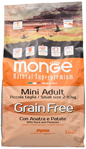 Grain Free Mini Adult con Anatra e Patate 2.5 kg