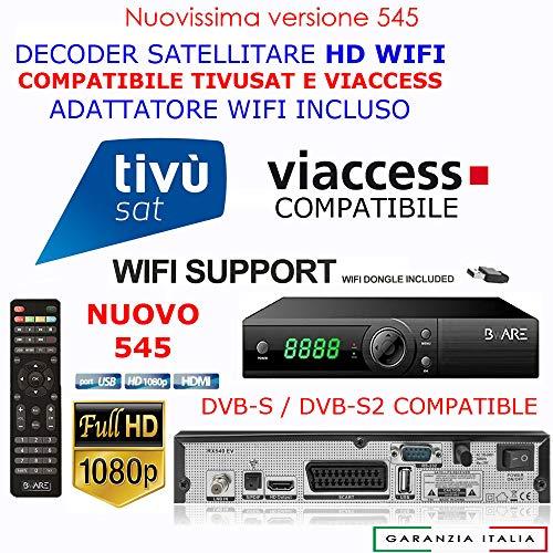 BWare - Descodificador vía satélite Digiquest HK 490HD LAN PVR
