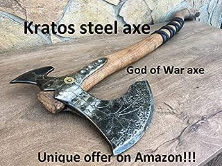 Kratos axe, Leviathan axe, God of War, viking axe, cosplay axe, cosplay armor, cosplay weapon, prop, replica, Kratos weapon, costume weapon