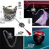 5 Pack Mo Dao Zu Shi porte-clés Cosplay accessoires accessoires Wei Wu Xian flûte fantôme Chen qing Ling anneau collier bandeau pots de vin cadeau