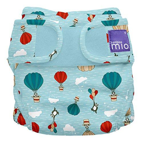 Bambino Mio, miosoft windelüberhose, himmelritt, Größe 2 (9kg+)