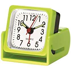 Travel Smart by Conair Analog Ascending Alarm Clock; Lime