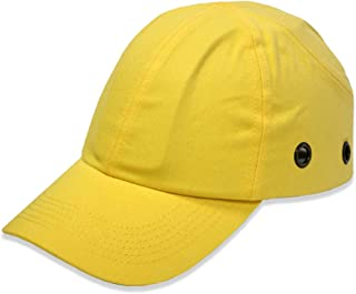 Lucent Path Yellow Baseball Bump Cap - Lightweight Safety hard hat head protection Cap