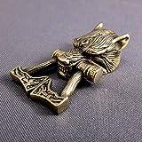 oleksandr.victory Buckle Paracord Bracelet Bronze Bead Hand-CAST Metal Beads Knives & Tools Sports & Fitness...