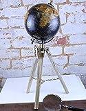 Maravi Potta Mundo Globe con Trípode Soporte