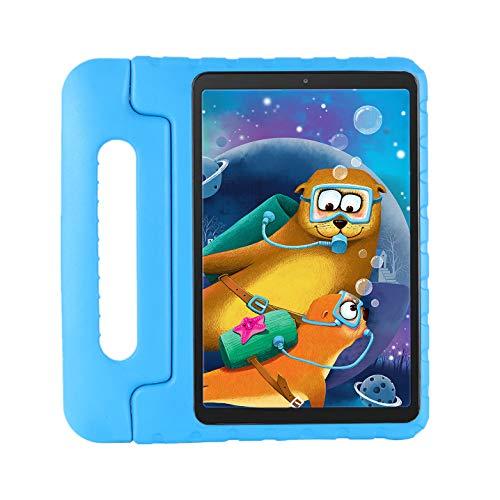 """Custodia protettiva per bambini Samsung Galaxy Tab A7 10.4"""" SM-T500 / T505 / T505N / T507, custodia antiurto con manico convertibile, leggera per Galaxy Tab A7 10.4"""" 2020(blu)"""