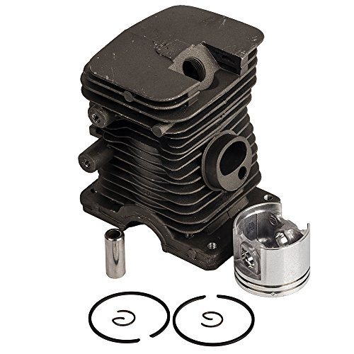 HIFROM 38MM Cylinder Piston Pin Rings & Circlips Rebuild Kit Assy Replacement for Stihl 018 MS180 Chainsaw New