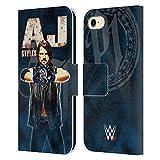 Head Case Designs sous Licence Officielle WWE AJ Styles Superstars Coque en Cuir à Portefeuille...