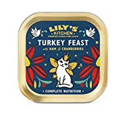 Lily's Kitchen Christmas Turkey and Ham Feast Complete Wet Cat Food (19 x 85g)