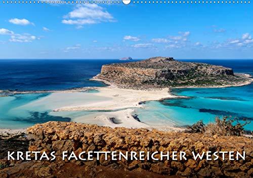 Kretas facettenreicher Westen (Wandkalender 2021 DIN A2 quer)