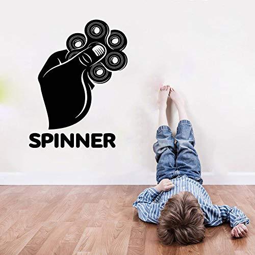 Videospiel-Wandaufkleber für Spiele, Gyroskope, Spinner, Hände, Jungen-Schlafzimmer-Controller32x42CM