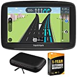 TomTom VIA 1625M 6' Touchscreen GPS Navigation Lifetime Maps w/Case + Extended Warranty