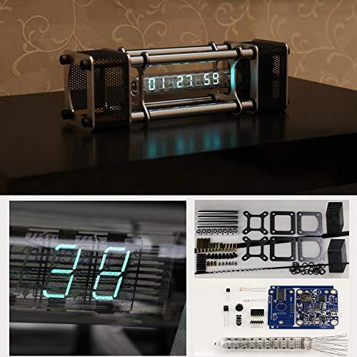 GD Unassembled IV-18 Fluorescent Tube Clock Kit DIY 6 Digital Display Energy Pillar With Remote Control