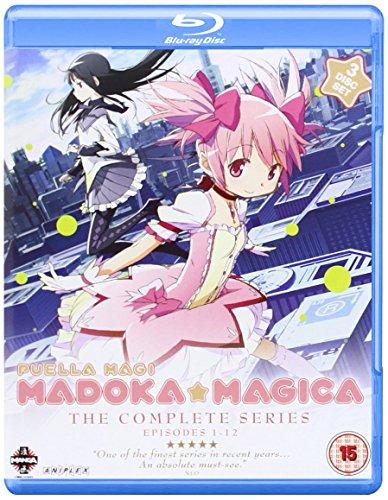 Puella Magi Madoka Magica Complete Series Collection [Edizione: Regno Unito] [Blu-Ray] [Import]