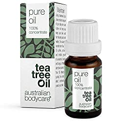 This is the pure 100% natural Australian Tea Tree Oil from Australian Bodycare. This Melaleuca alternifolia variety of Tea Tree Oil has the most beneficial natural properties out of all 110 varieties. Our Tea Tree Oil is pure and of pharmaceutical gr...