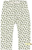 loud + proud Unisex Baby Hose mit Druck, aus Bio Baumwolle, GOTS zertiziziert, Grün (Olive Oli), 92 (Herstellergröße: 86/92)