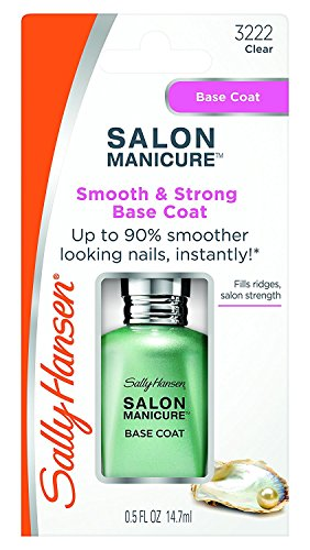 Sally Hansen Salon Manicure Smooth & Strong Base Coat Clear / Transp