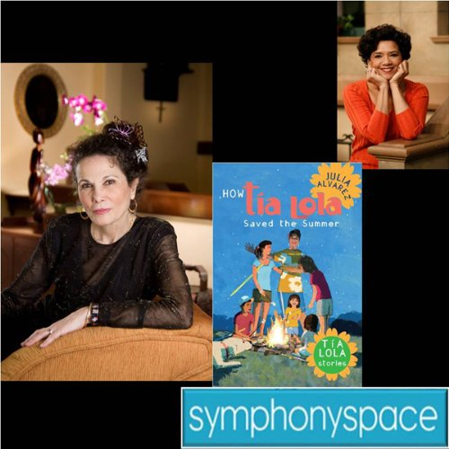 Thalia Kids' Book Club: Julia Alvarez' Tia Lola Series in Conversation with Sonia Manzano audiobook cover art