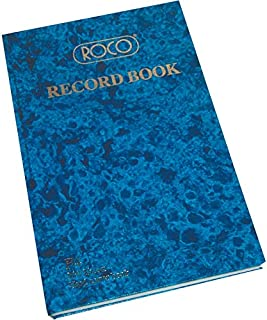 Roco Record Book, F4 Size, 400 Pages (200 Sheets), 21.00 cm (8.26 In) X 32.60 cm (12.83 In), 23532Ble