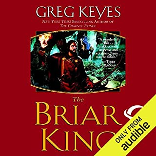 The Briar King audiobook cover art