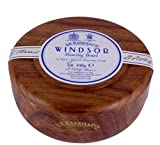 D.R.Harris & Co Windsor Mahogany Effect Shaving Bowl & Shaving Soap